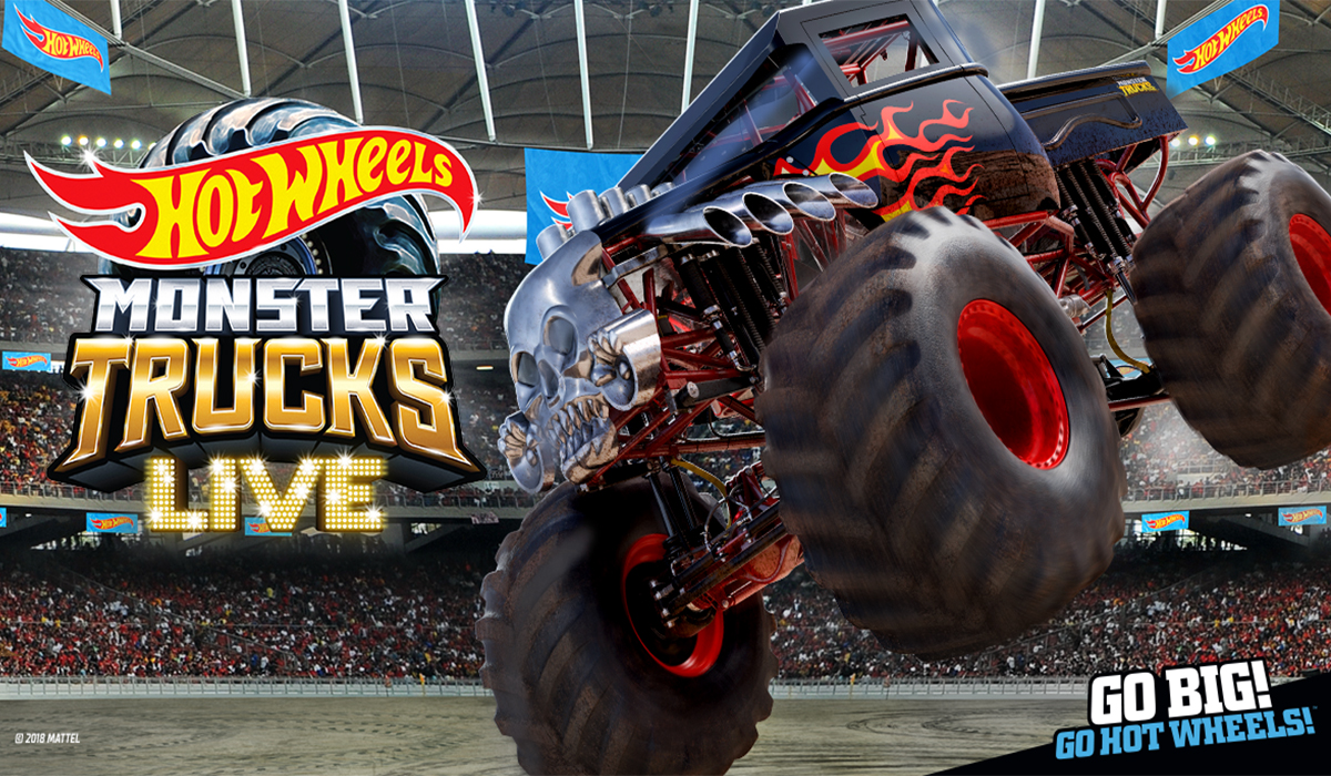 Hot Wheels Monster Trucks Live Dickies Arena