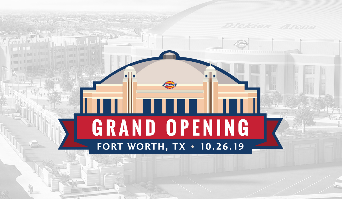 Dickies Arena Grand Opening and Ribbon Cutting Ceremony