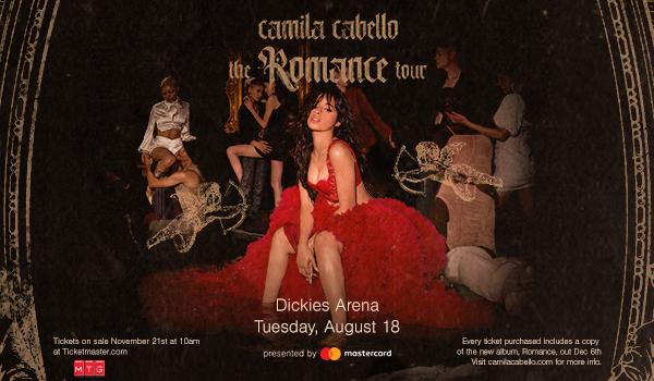 Camila Cabello - Website Event