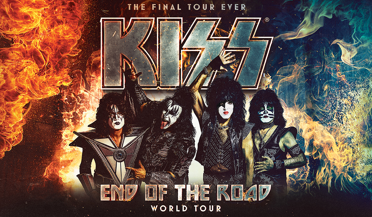KISS - Website event graphic
