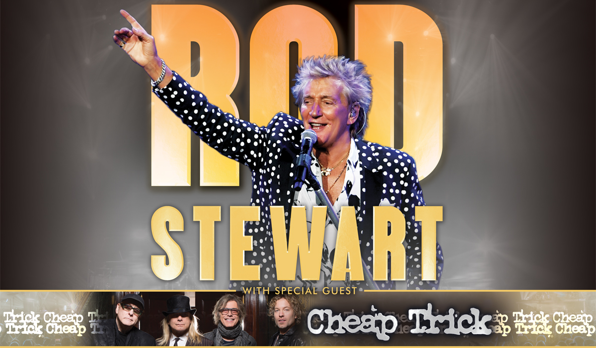 2020 Rod Stewart with Cheap Trick